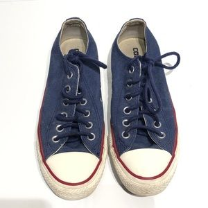 Converse All Star Denim Low Top Sneakers Chucks